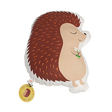 "Achat Coussin Coussin ""Honey the Hedgehog"""