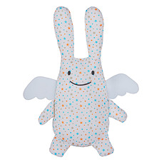 Achat Peluche Ange Lapin Musical Etoiles 24 cm