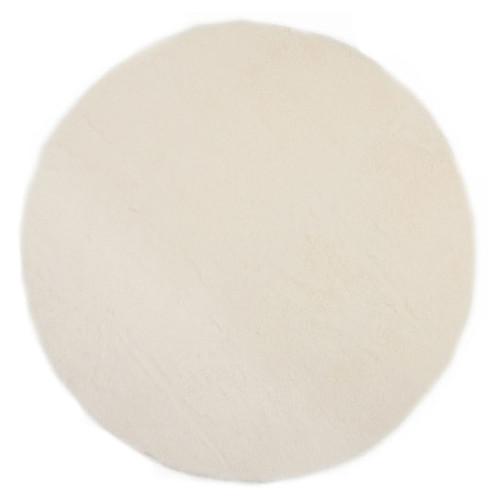 pilepoil tapis rond fausse fourrure blanc 140 cm tapis pilepoil sur l 39 armoire de b b. Black Bedroom Furniture Sets. Home Design Ideas