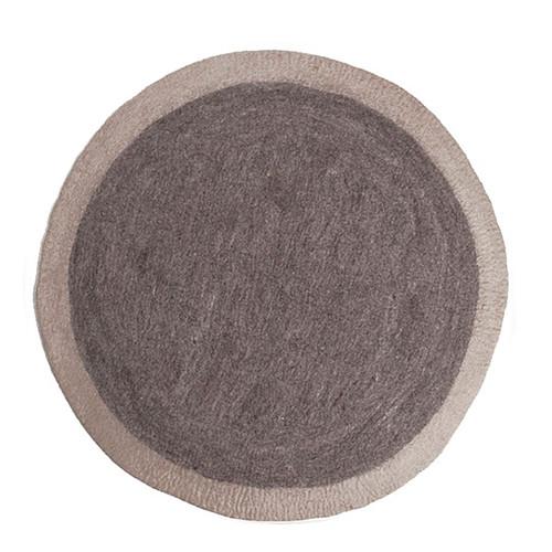muskhane tapis rond lumbini 120 cm pierre tapis muskhane sur l 39 armoire de b b. Black Bedroom Furniture Sets. Home Design Ideas