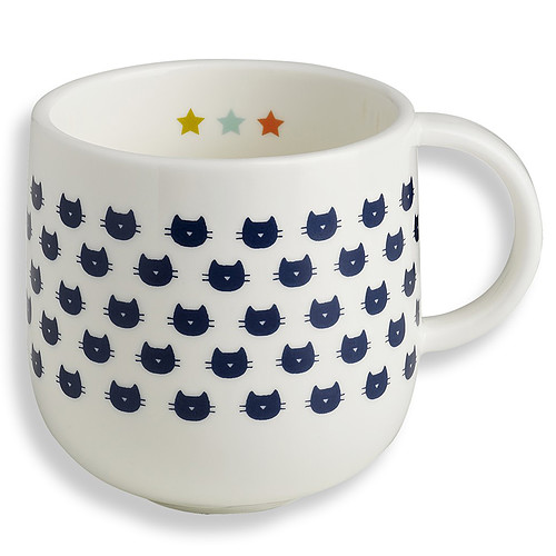 mug en porcelaine chats jot12 achat vente tasse. Black Bedroom Furniture Sets. Home Design Ideas