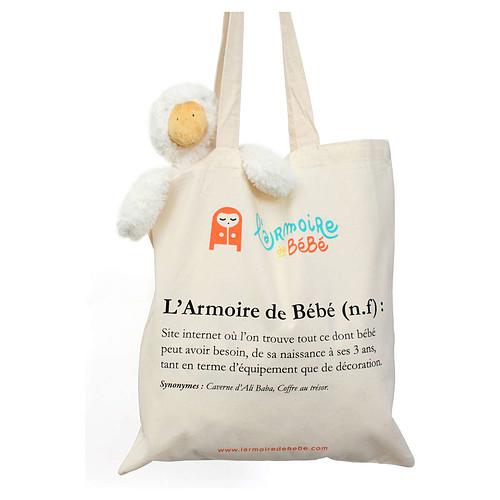 G n rique sac tote bag l 39 armoire de b b bagagerie - L armoire de bebe ...