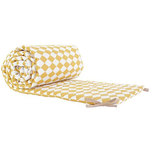 nobodinoz tour de lit constantinopla losanges miel linge de lit nobodinoz sur l 39 armoire de b b. Black Bedroom Furniture Sets. Home Design Ideas
