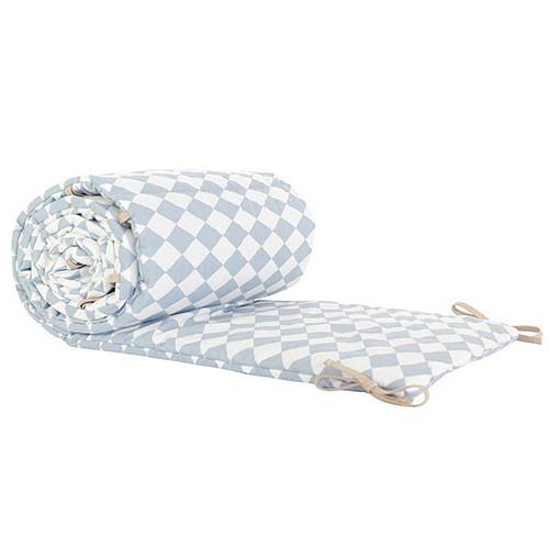 nobodinoz tour de lit constantinopla losanges bleus linge de lit nobodinoz sur l 39 armoire de b b. Black Bedroom Furniture Sets. Home Design Ideas