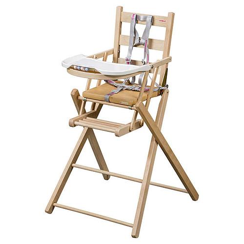 Chaise haute Chaise Haute Extra-Pliante Sarah - Naturel Chaise Haute Extra-Pliante Sarah - Naturel