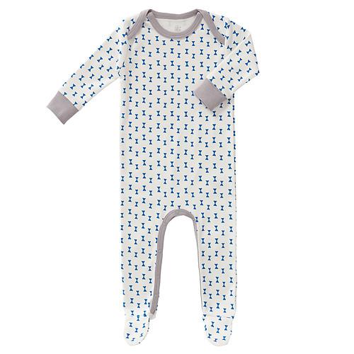 167bfbb5c8965 Fresk Pyjama avec Pied Noeud - Bleu - 3 / 6 mois - Body et Pyjama ...