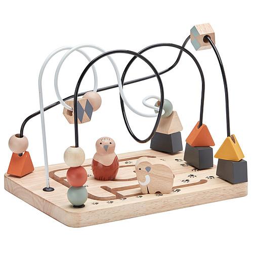 Mes premiers jouets Jouet d'Activité en Bois et Métal - NEO Jouet d'Activité en Bois et Métal - NEO