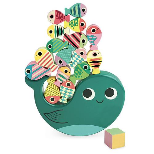Mes premiers jouets Jeu d'équilibre Whaly par Ingela P. Arrhenius Jeu d'équilibre Whaly par Ingela P. Arrhenius