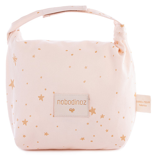 Sac isotherme Lunch Bag Waterproof - Gold Stella & Dream Pink