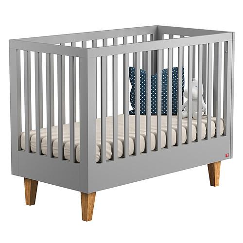 Lit bébé Lit Bébé Evolutif Lounge 70 x 140 cm - Gris