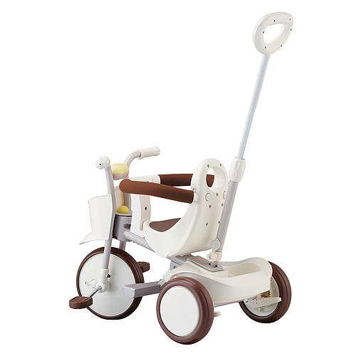 Trotteur & Porteur Tricycle Evolutif - Gentle White Tricycle Evolutif - Gentle White