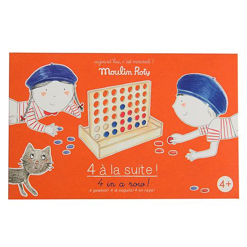 Mes premiers jouets Jeu de 4 à la Suite - Aujourd'hui c'est Mercredi Jeu de 4 à la Suite - Aujourd'hui c'est Mercredi