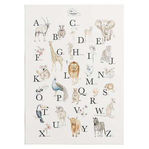Affiche & poster Poster Alphabet Français Poster Alphabet Français