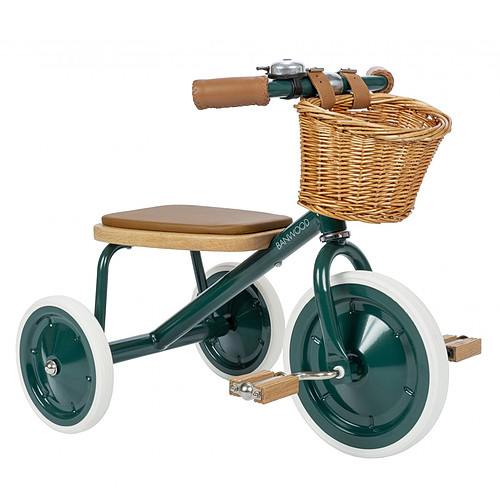Trotteur & Porteur Tricycle Trike - Vert Emeraude Tricycle Trike - Vert Emeraude