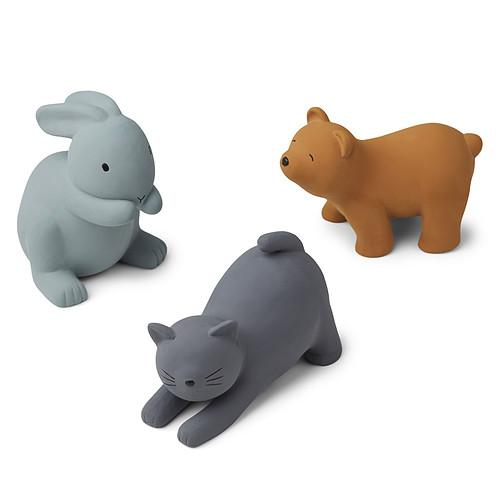 Mes premiers jouets Lot de 3 Jouets de Bain David - Blue Multi Mix Lot de 3 Jouets de Bain David - Blue Multi Mix