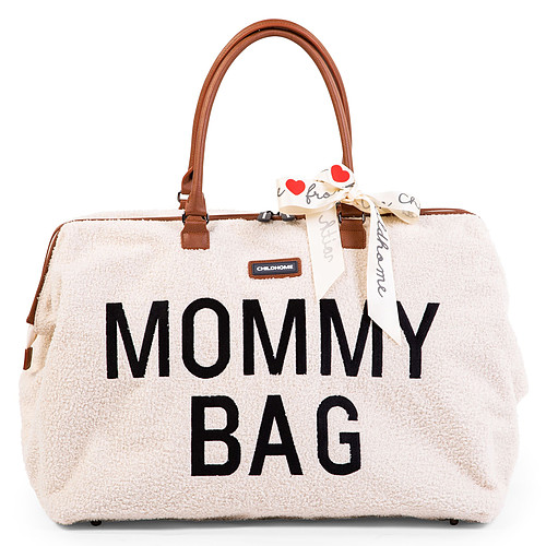 Sac à langer Mommy Bag Large - Teddy Ecru Mommy Bag Large - Teddy Ecru