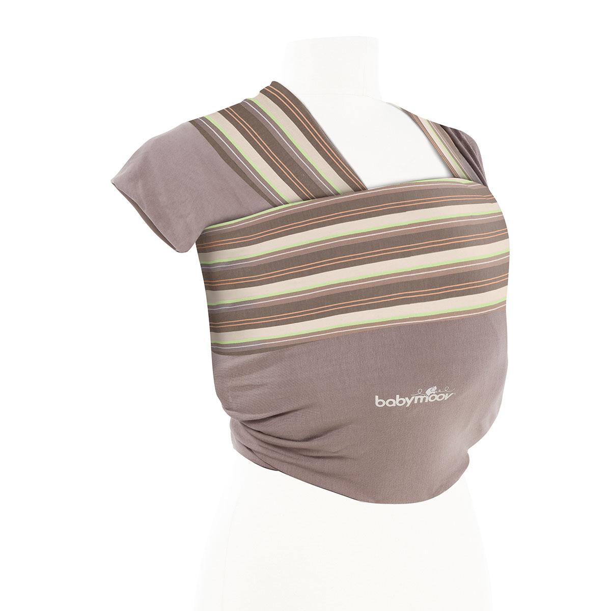 babymoov porte b b charpe nouer taupe amande porte. Black Bedroom Furniture Sets. Home Design Ideas