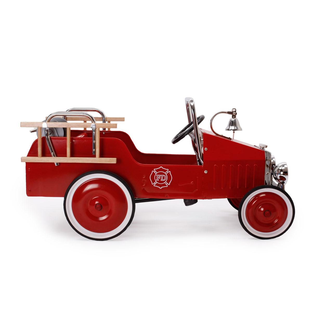 voiture p dales camion de pompiers rouge 1938fe ln. Black Bedroom Furniture Sets. Home Design Ideas